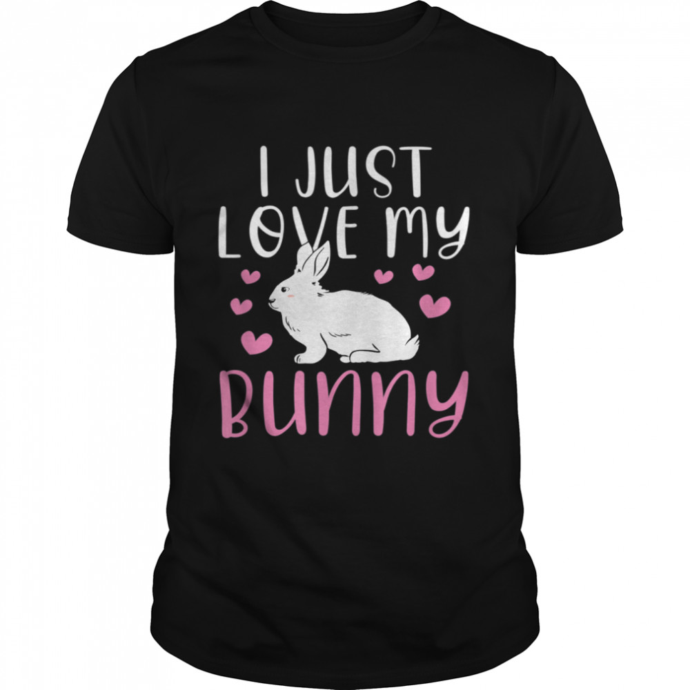 I Just Love My Bunny Cute Easter Rabbit shirt Classic Men's T-shirt