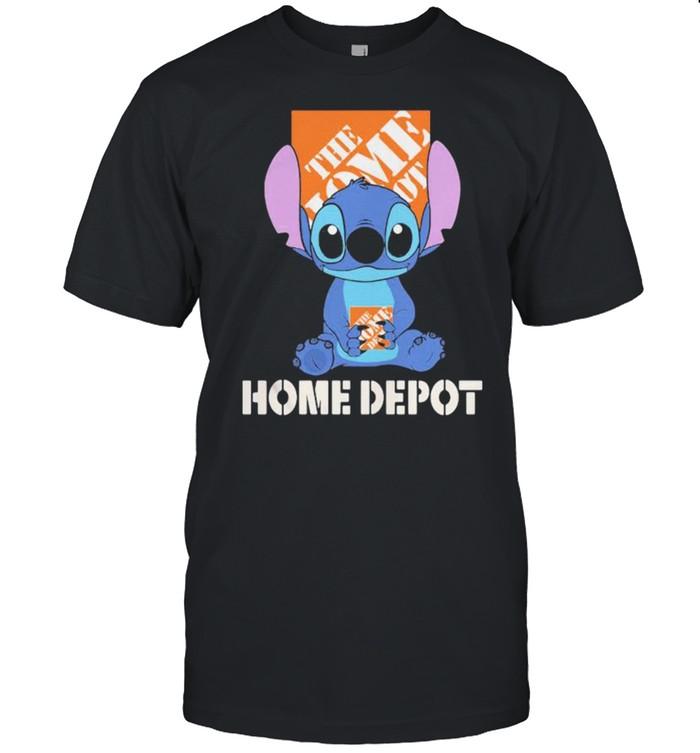 The Home Depot Stitch  Classic Men's T-shirt