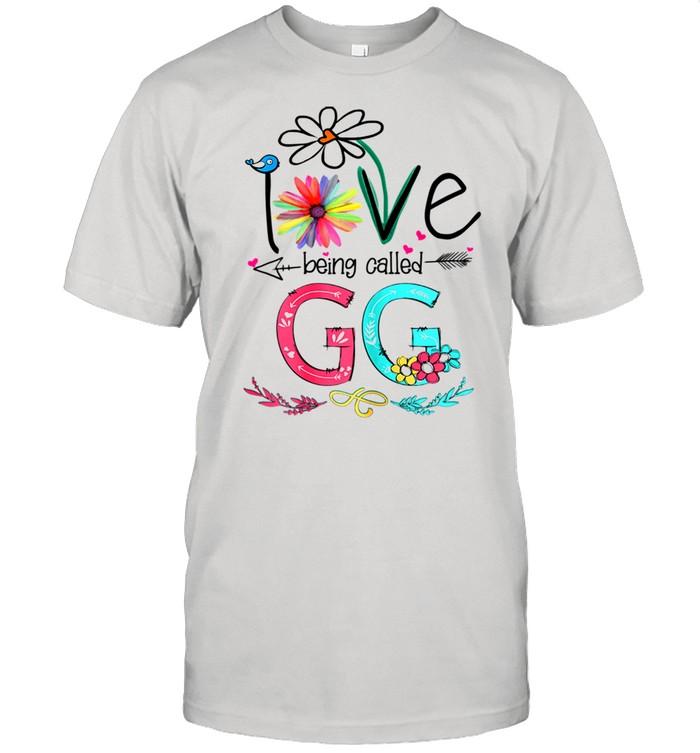 I Love Being Called GG Sunflower shirt Classic Men's T-shirt