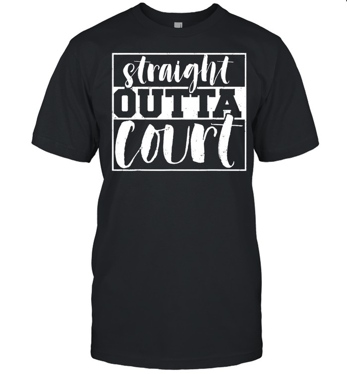 Attorney Straight Outta Court Law School Student Attorney shirt Classic Men's T-shirt