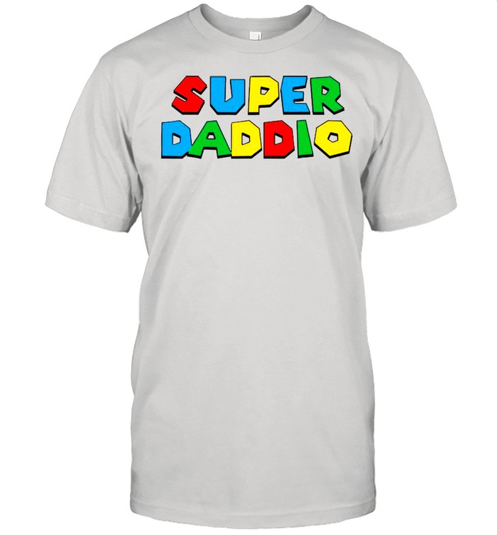 2021 Super Daddio Happy Father's Day shirt Classic Men's T-shirt
