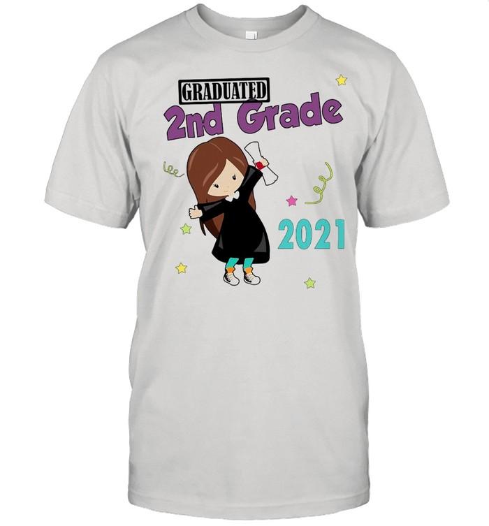 Girly Graduated 2nd Grade 2021 T-shirt Classic Men's T-shirt