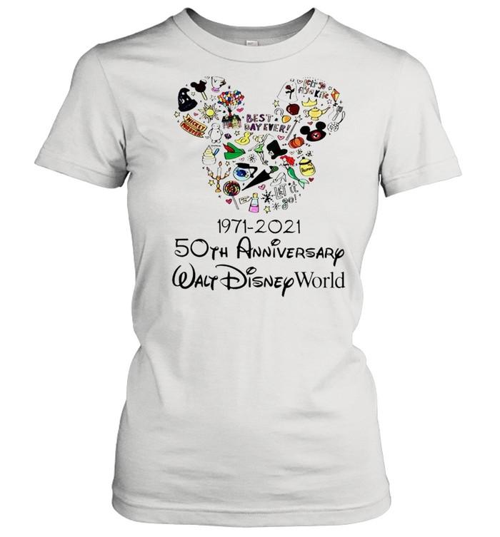 1971 2021 50th Anniversary MIckey mouse shirt Classic Women's T-shirt