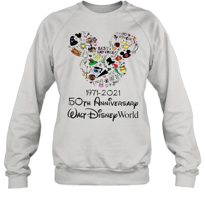 1971 2021 50th Anniversary MIckey mouse shirt Unisex Sweatshirt