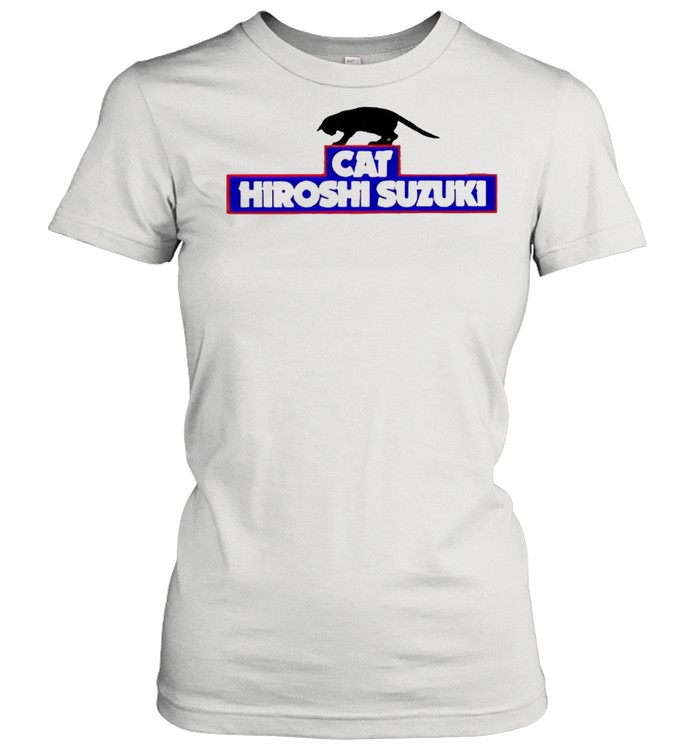 Cat Hiroshi Suzuki shirt Classic Women's T-shirt